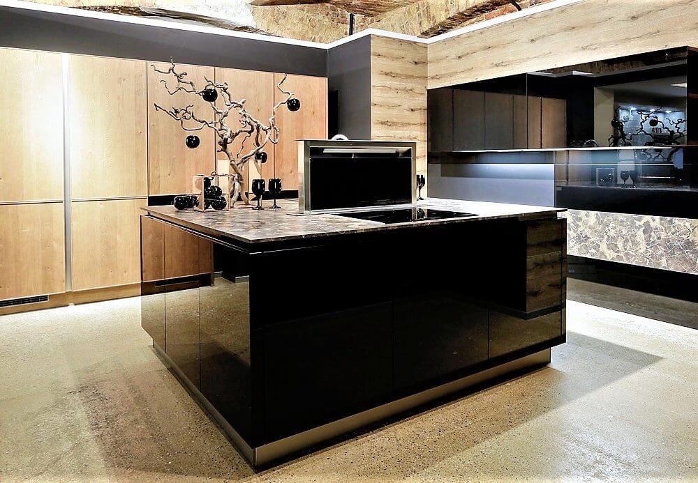 Schwarze Küchen Günstig Kaufen - Größte Schwarze Küchenausstellung