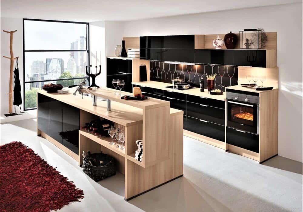 Holz Küchen günstig kaufen - kompetente Beratung - 3D Planung vor Ort
