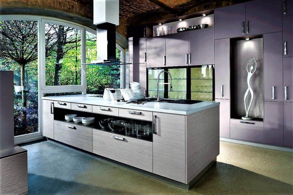 Lila Küchen