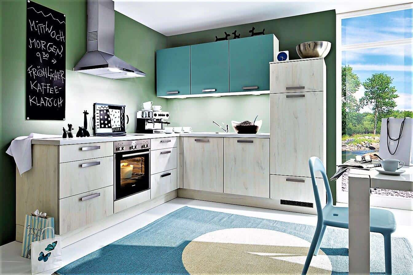 Grüne Küchen grüne küchen günstig kaufen 3d planung ihrer grünen küche qualität