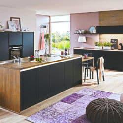 Inselküchen Industrial Style Küche Rost Küchen