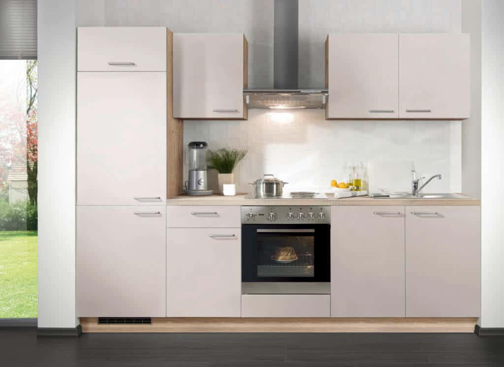 Beige Küchenzeile