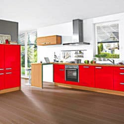 Klassische Küchenzeile
