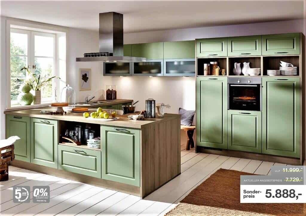 Grüne Küchen