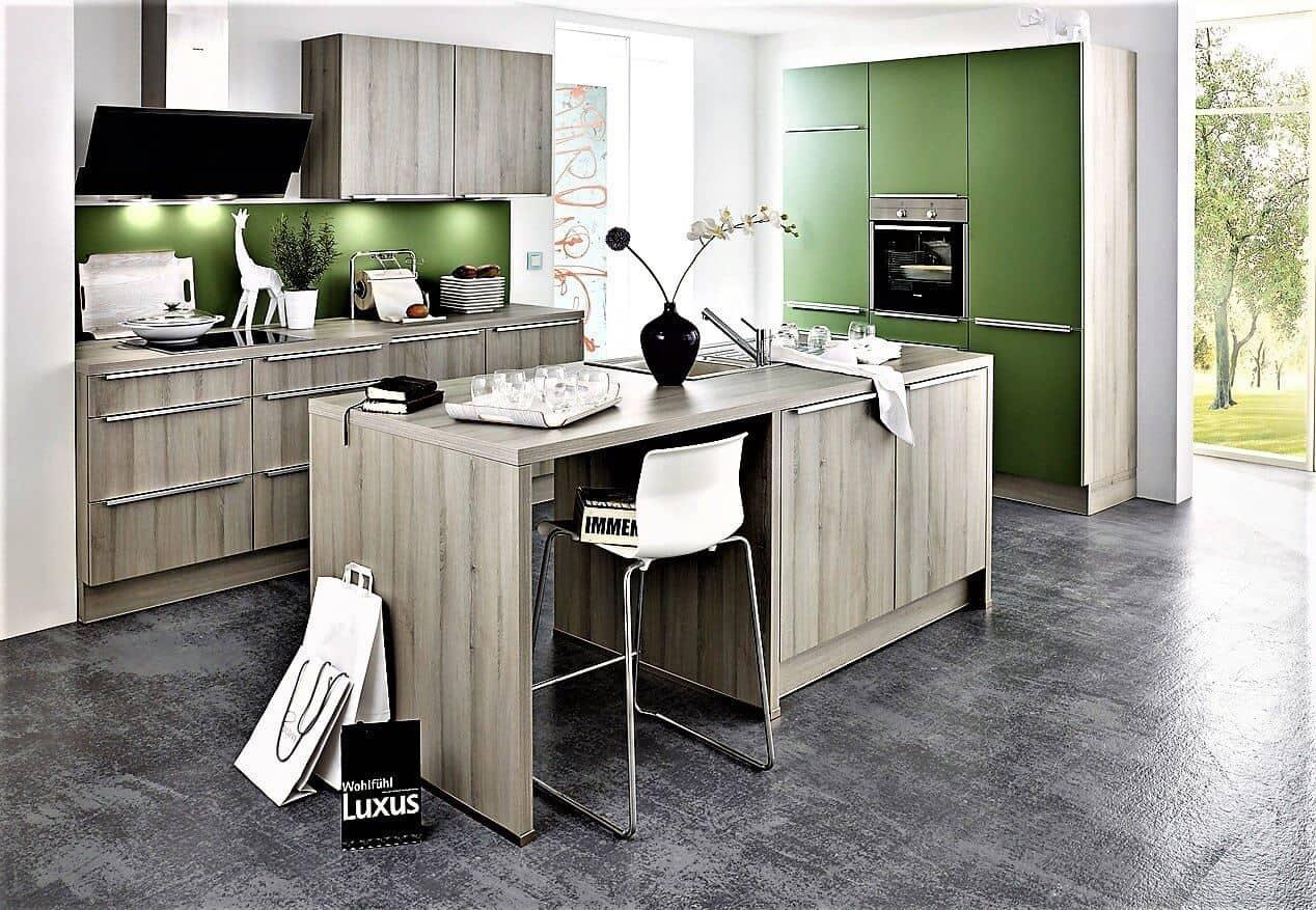 Grüne Küche grüne küchen günstig kaufen 3d planung ihrer grünen küche qualität