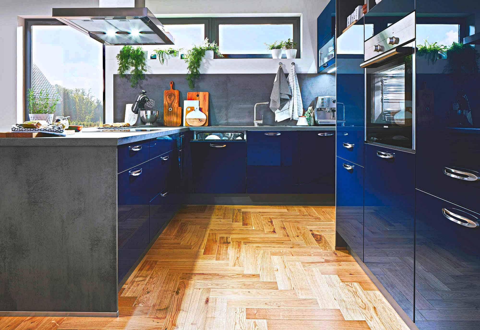 Niedlich Blau Schränke Küche Ideen - Ideen Für Die Küche Dekoration ...