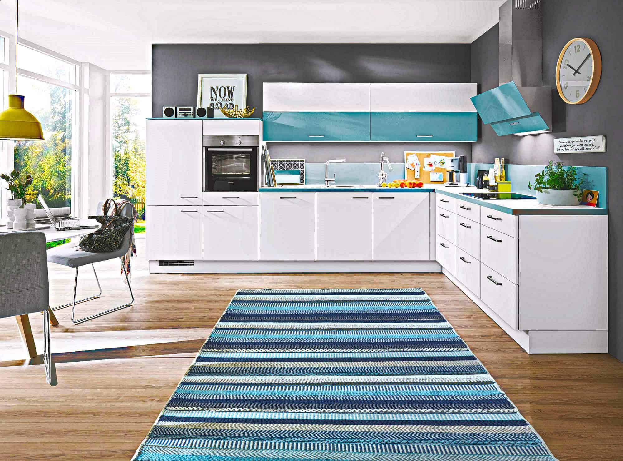 Charmant Blaue Und Gelbe Küche Ideen - Ideen Für Die Küche ...