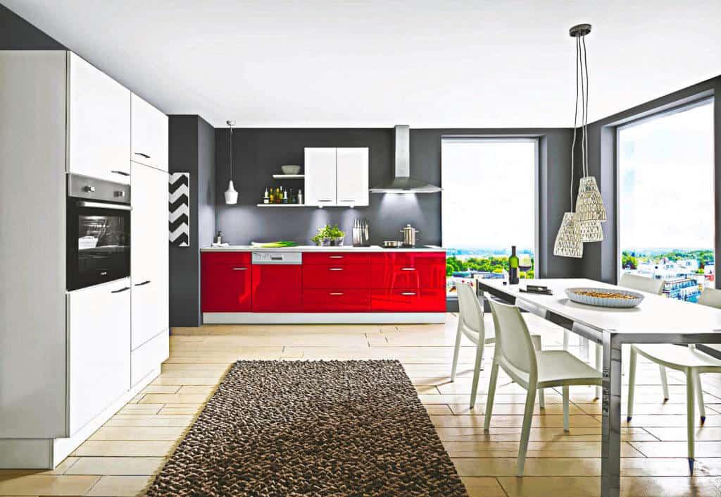 kleine Single Küchenzeile