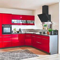 Moderne hochglanz Küchen