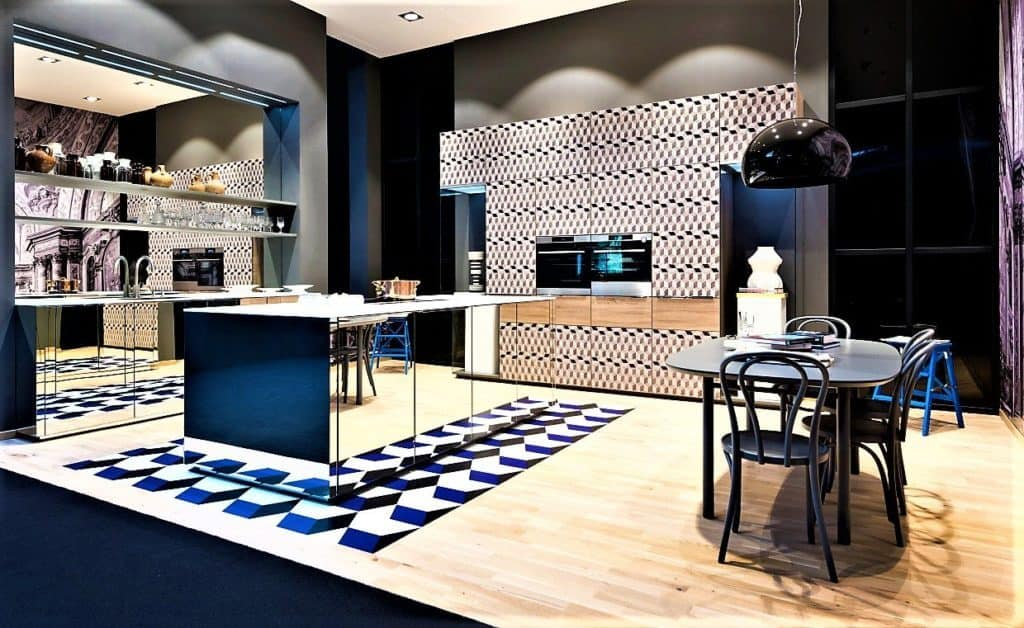 Nolte Neo Salon Spiegelküche
