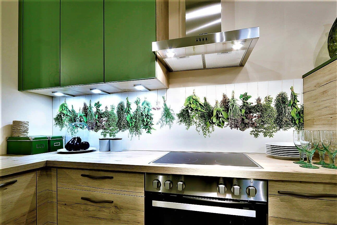 Charmant Grün Küchenschränke Fotos - Ideen Für Die Küche Dekoration ...