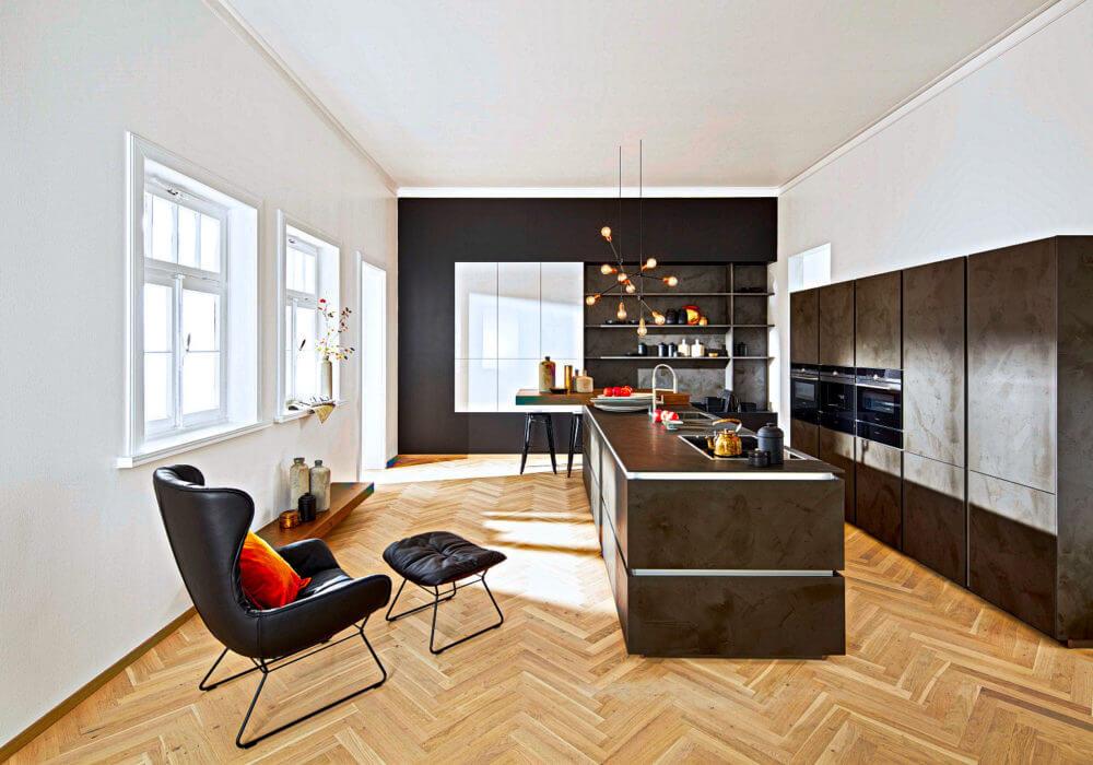 Moderne Küchenzeile moderne küchen günstig kaufen küchen börse größte küchenauswahl