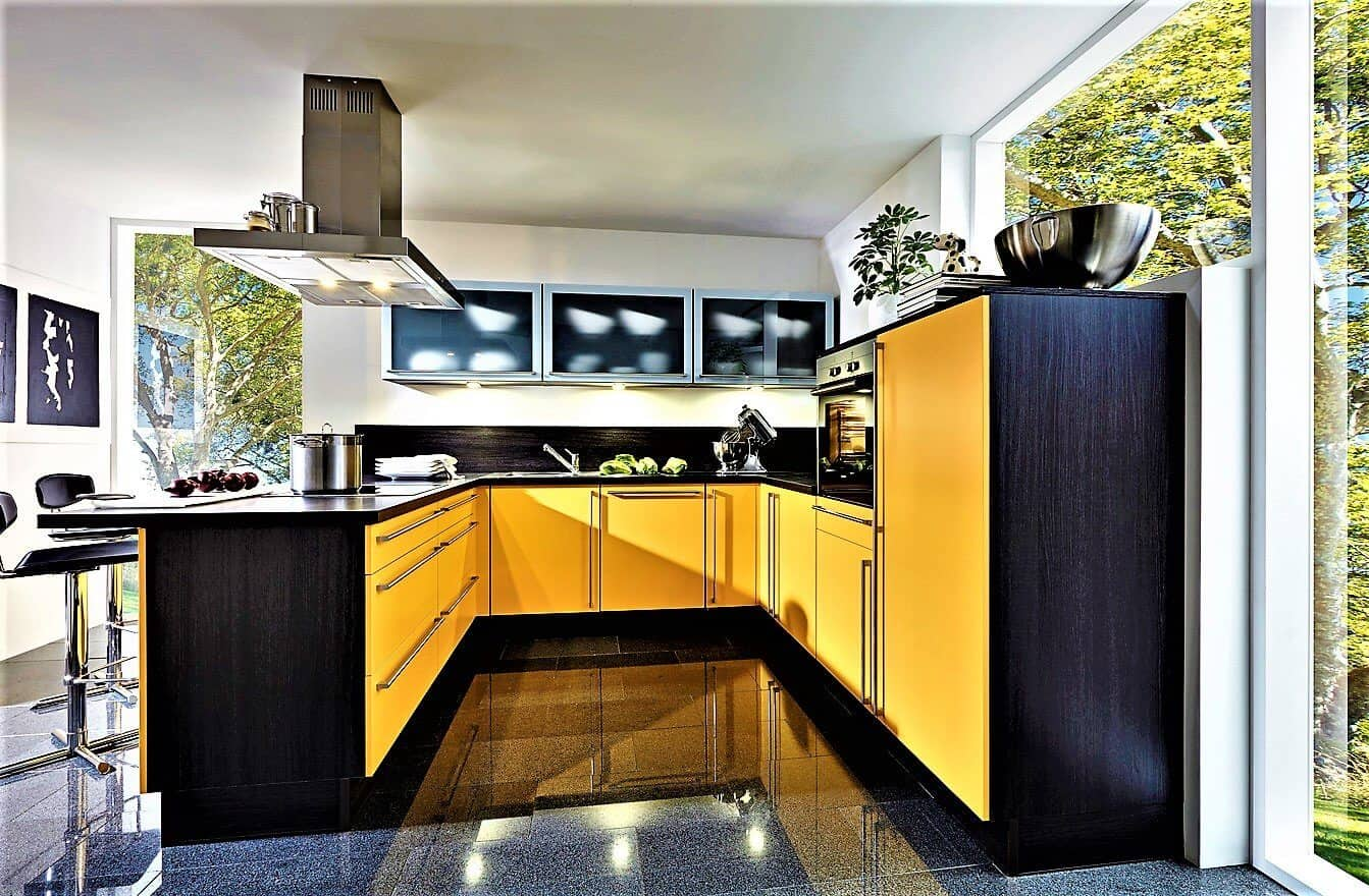Gelbe Küche günstig kaufen - bis zu 70 % Rabatt ! - Gelbe Küchen !