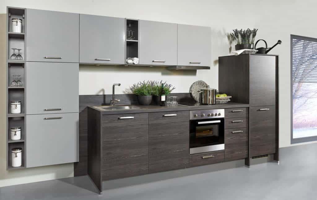Kleine moderne Küchenzeile