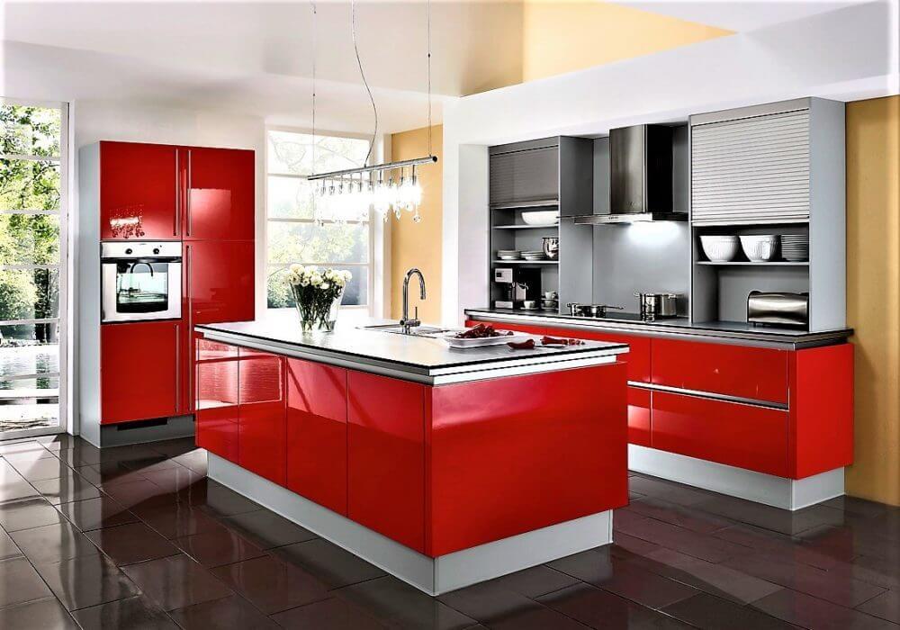 Innova Küchen Berlin rote küchen kompetente 3d planung günstig rote küchen kaufen