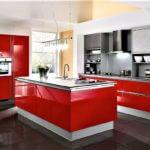 Rote Küchen