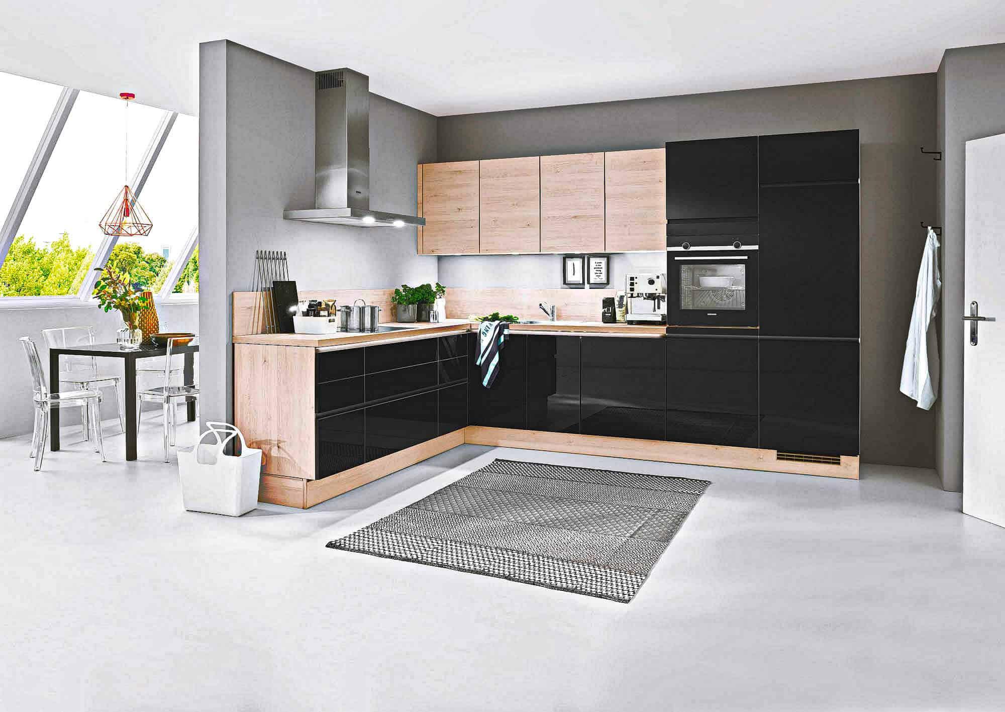 Küche nach Bauform