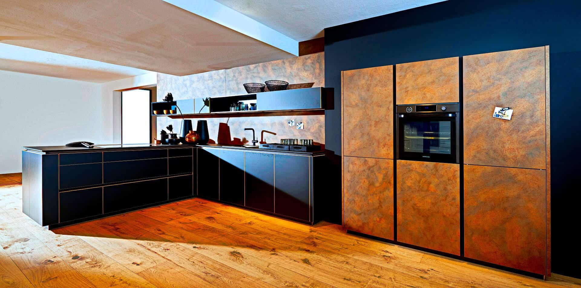 Messing Küche