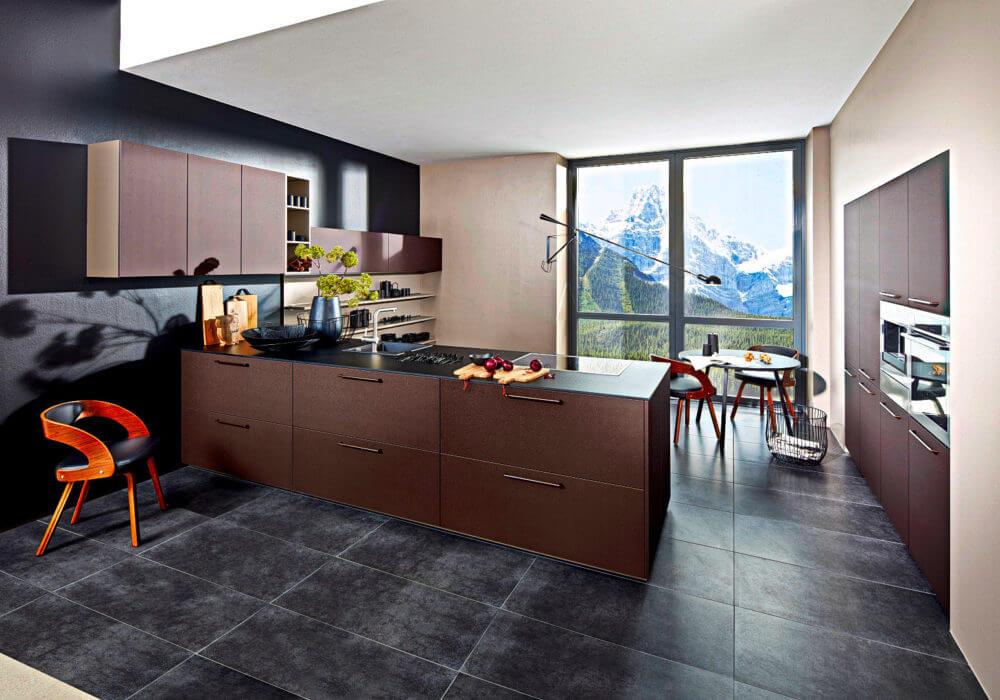 Braune Küchen