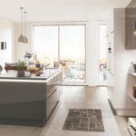 Moderne Design Küche im Hochglanz