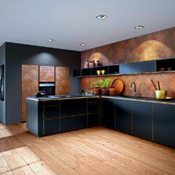Cortenstahl Küche