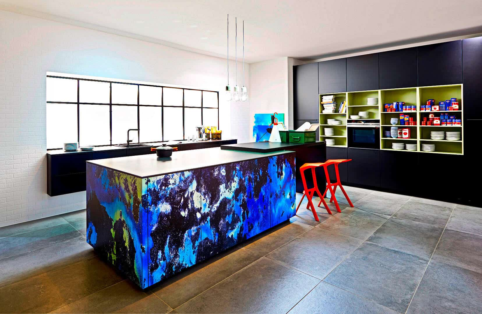 K chen u form kaufen ikea k che folie amerikanische grundriss sitzbank bar tafel wohnzimmer und - Blaue fliesen kuche ...