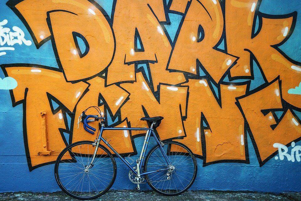 Graffiti Nischenrückwand
