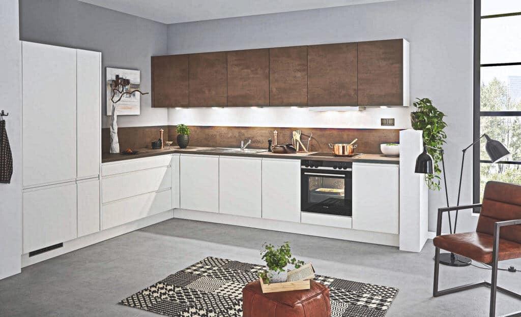 Große L Küche