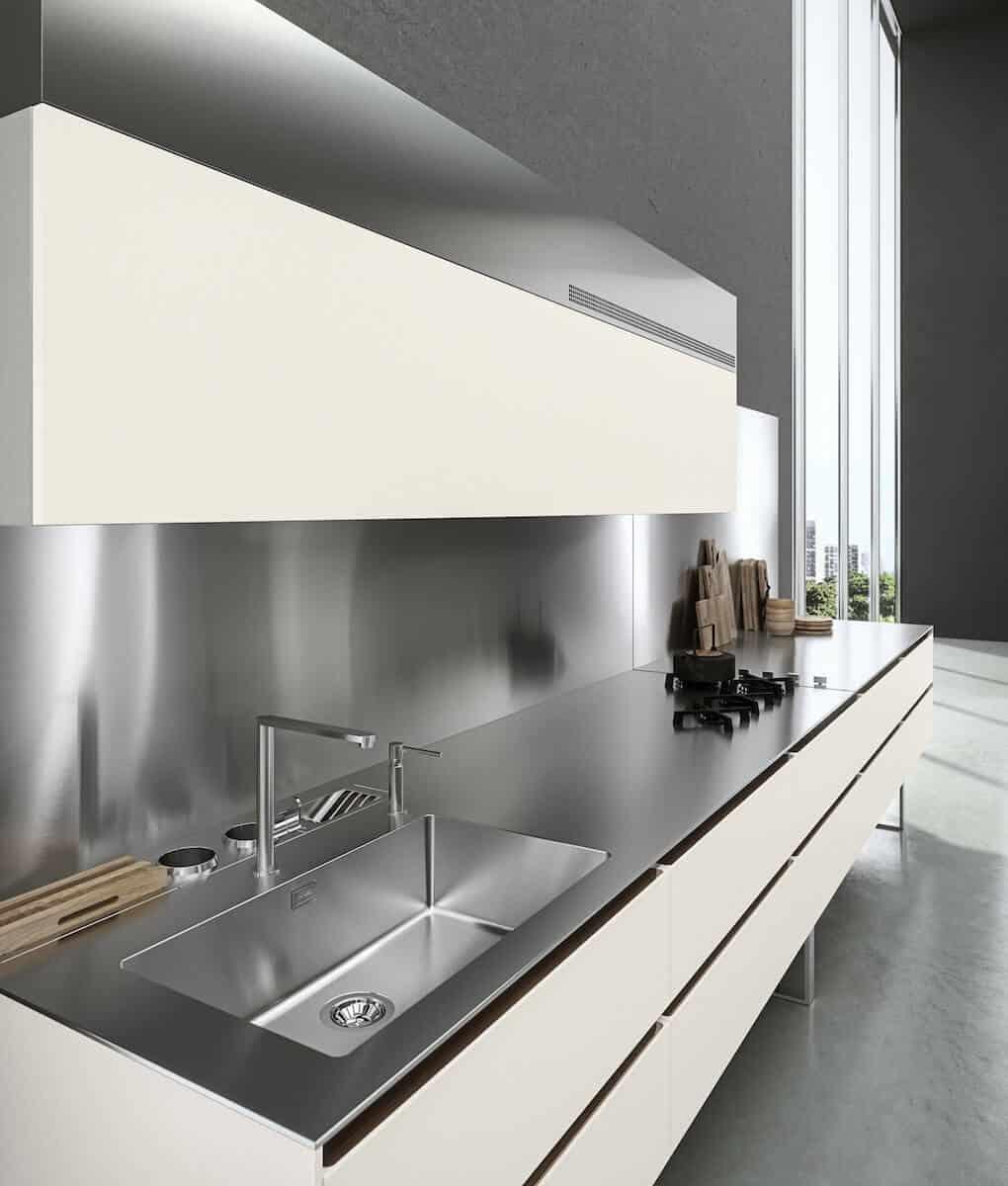 Edelstahl Nischenrückwände - 3D Planung Ihrer Küche ...