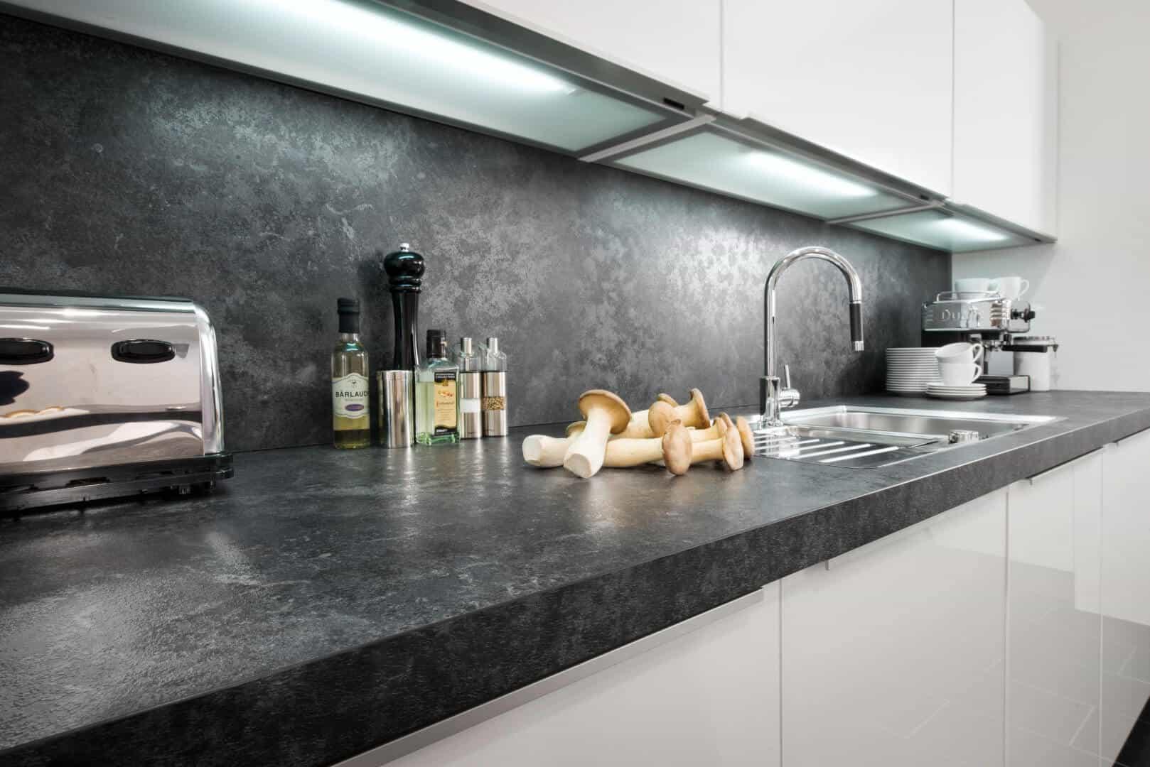 Nischenrückwände - Küchen Börse 15 - Riesige Auswahl - 15D Planung