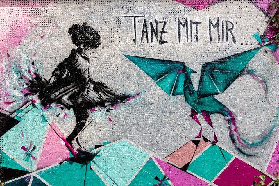Grafitti Nischenrückwände