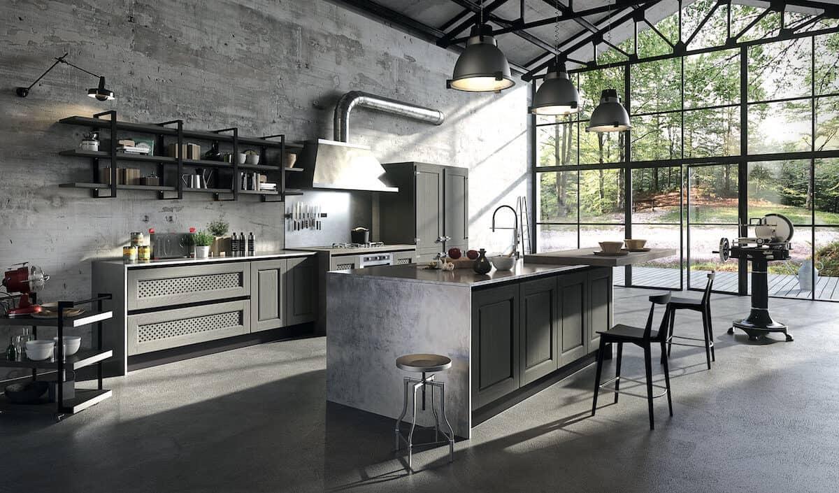 Aran Küche Bellagio