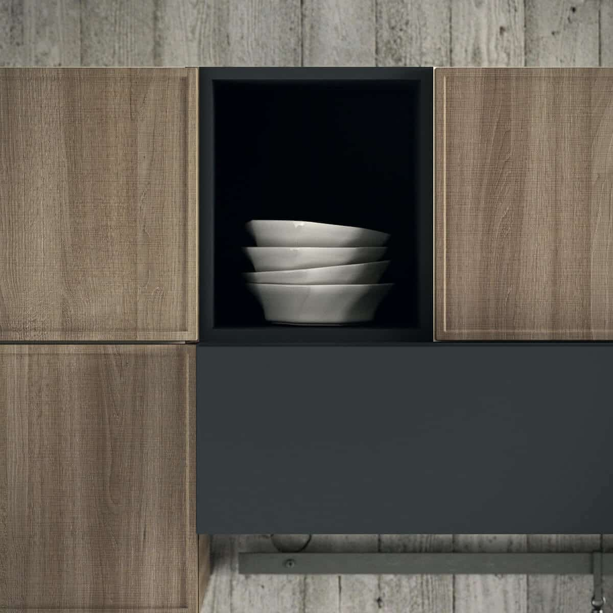 Aran Küchenfront Quadro