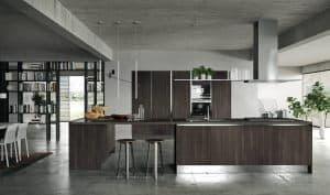 ARAN Mia Inselküchen Holzküchen moderne Küchen italienische Design Küchen