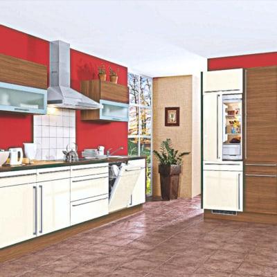 Sonoma Eiche Seidenfarbe Küche 23