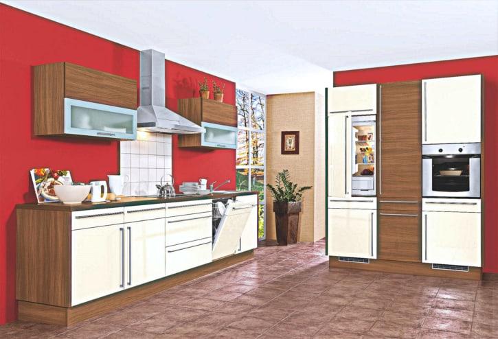 Sonoma Eiche Seidenfarbe Küche 1