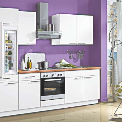 Weiße kleine Küchenzeile 9