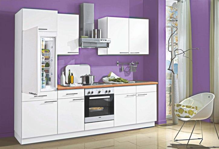 Weiße kleine Küchenzeile 1