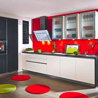 L Küche Lack Seidenmatt 11