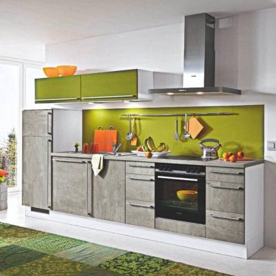 Küchenzeile in Betonoptik 12