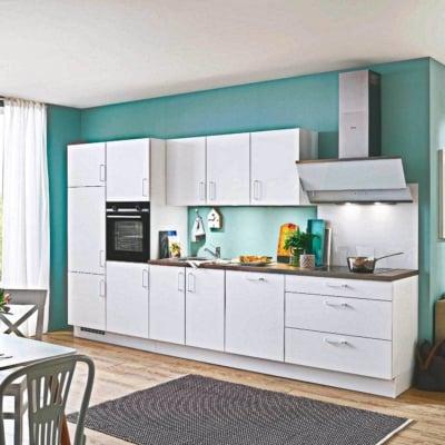 360 cm Küche satt 35