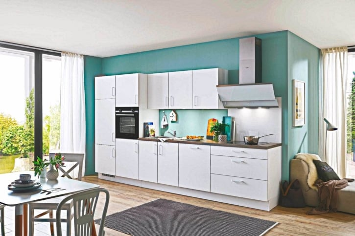 360 cm Küche satt 1