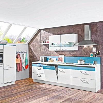 Moderne kleine L Küche 15
