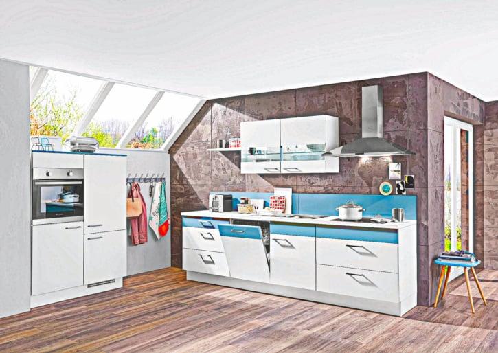 Moderne kleine L Küche 1