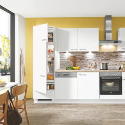 Kleine Küche Lack weiß matt 33