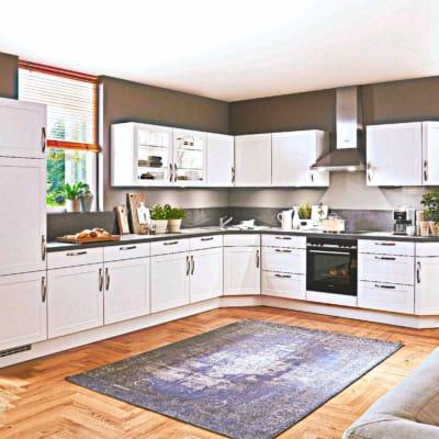 L Küche alpinweiß 11