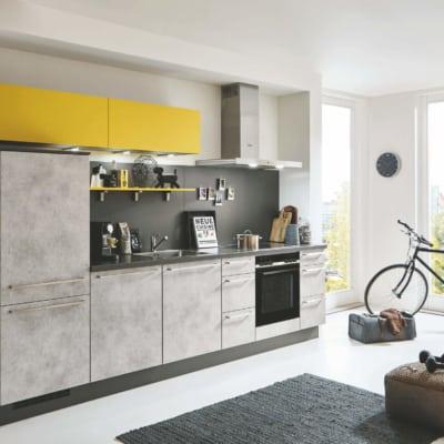 Küchenzeile Beton Grau 13