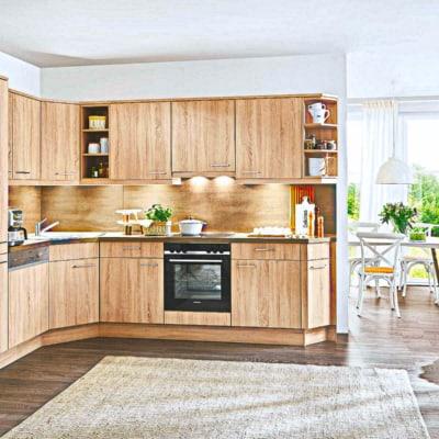 Kleine Holz Küche 17
