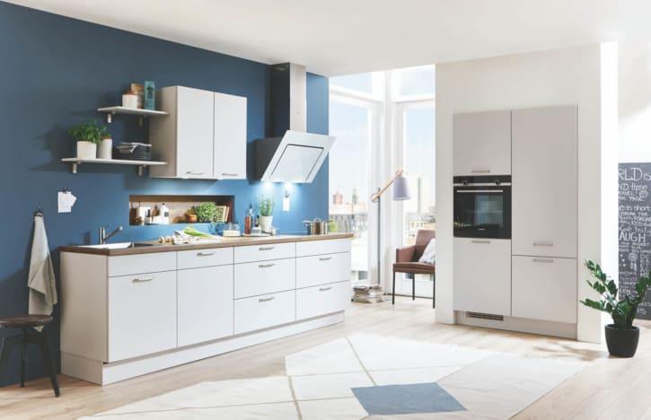 L Küche Seidengrau 1