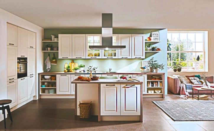 Landhaus Küche Magnolie 1
